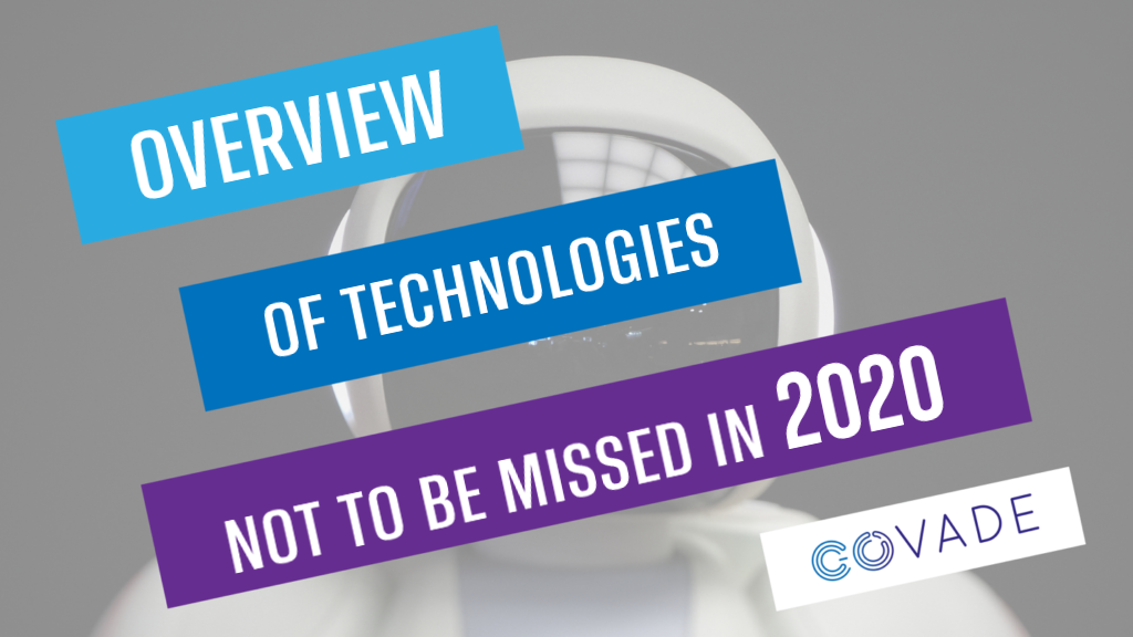 """Image saying """"Aperçu des technologies à ne pas manquer en 2020"""""""""""